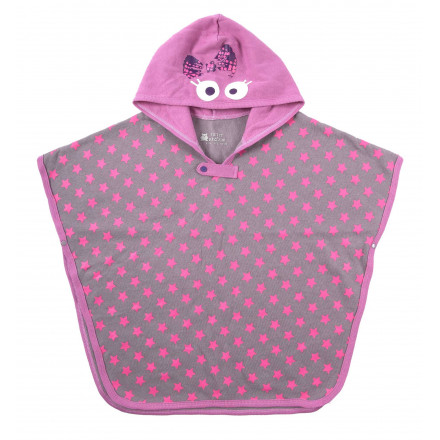 Poncho fille Little Town