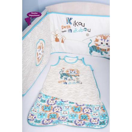 Tour de lit bébé garçon Kikou
