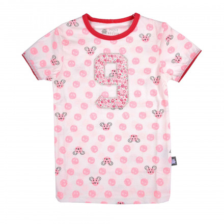 Tee-shirt fille Souricette