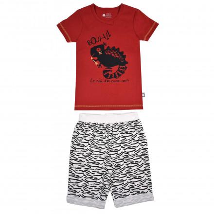Pyjama garçon manches courtes Bouh Boy