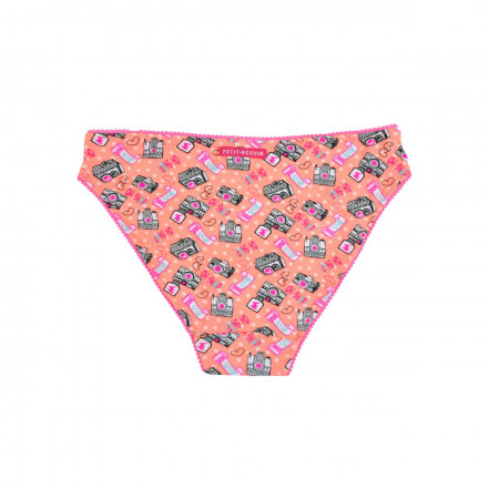 Culotte fille orange Caramel