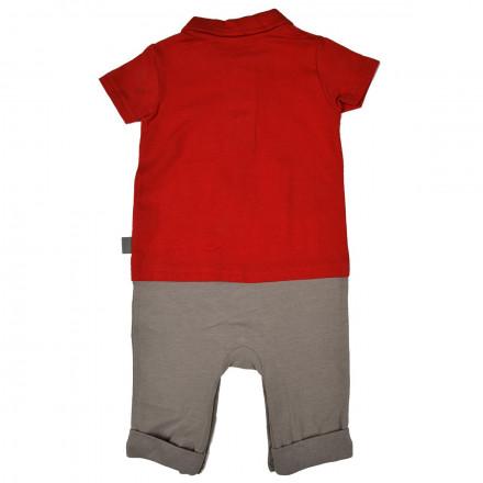 Combinaison 2 en 1 Polo + pantalon bébé garçon Rebel Team