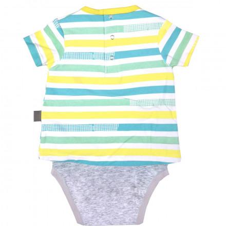 Body t-shirt bébé garçon Petit Citron