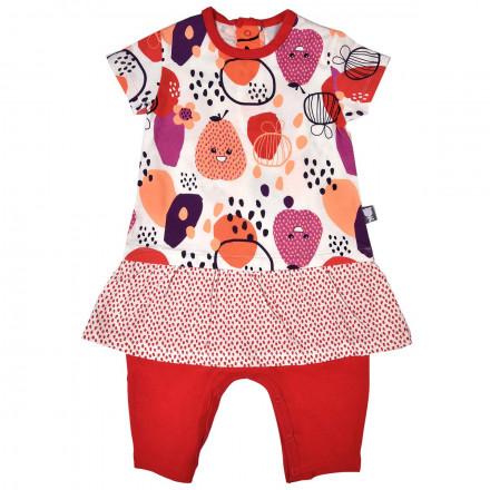 Combinaison 2 en 1 Robe + legging bébé fille Pépin