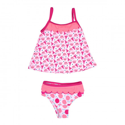 Maillot de bain 2 pièces bébé fille top + slip Just Happy