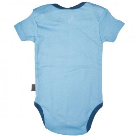 Body bébé garçon bleu clair Happiness