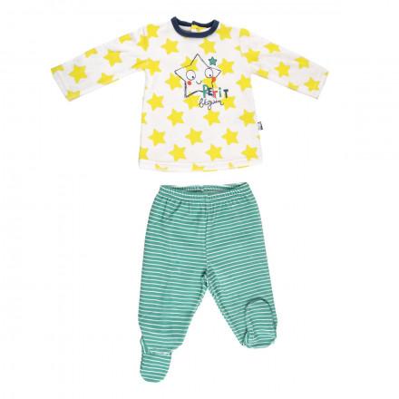 Ensemble bébé garçon t-shirt + pantalon Illico