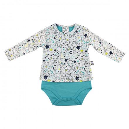 Body t-shirt bébé garçon Little Moon