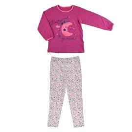 Pyjama fille manches longues Petite Lune