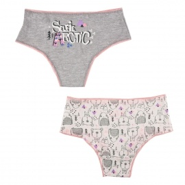 Lot de 2 shorty fille Selfie Artic girl