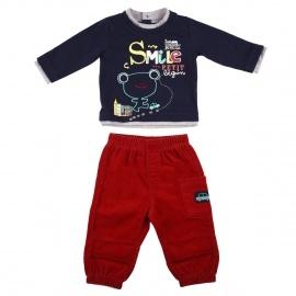 Ensemble bébé garçon Tshirt + Pantalon Titouan