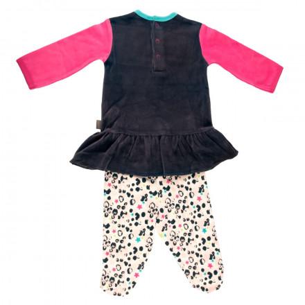 Ensemble bébé fille  t-shirt + pantalon Wish