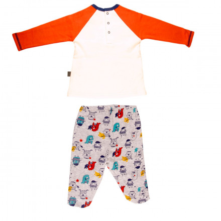 Ensemble bébé garçon t-shirt + pantalon Petit Branché