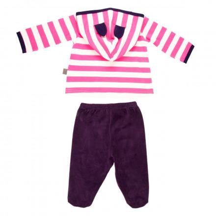 Ensemble bébé fille t-shirt + pantalon Youpi