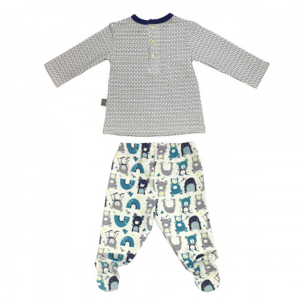Ensemble bébé garçon t-shirt + pantalon Artic Bird