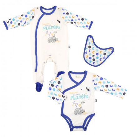 Kit naissance bébé garçon Petite Planète