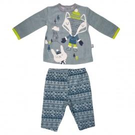 Ensemble bébé garçon t-shirt + pantalon Snowfox