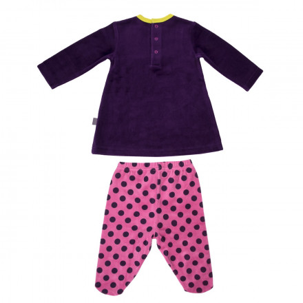 Ensemble bébé fille t-shirt + pantalon Hip Hip