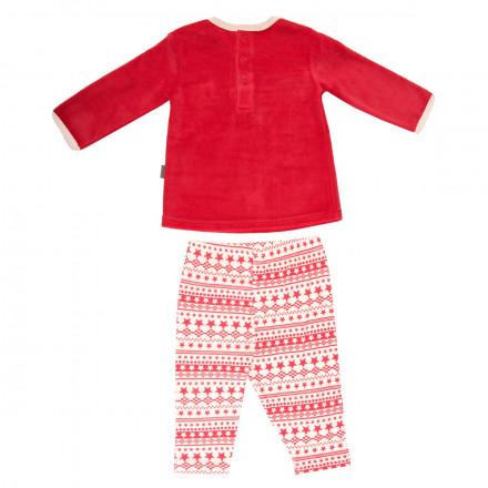 Ensemble bébé garçon t-shirt + pantalon Super Noël