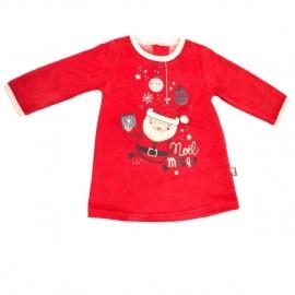 Robe bébé fille Super Noël