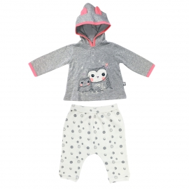 Ensemble bébé fille t-shirt + sarouel Icebird
