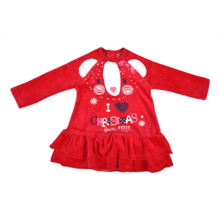 Robe bébé fille Love Christmas