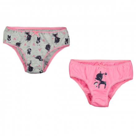 Lot de 2 culottes fille Magic