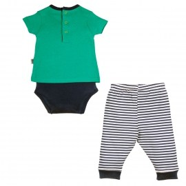 Ensemble bébé garçon Body t-shirt + Legging Smallcity
