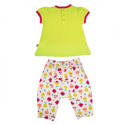Ensemble t-shirt et sarouel bébé fille Fruity