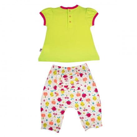 Ensemble t-shirt et sarouel bébé fille Fruity