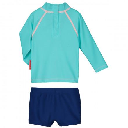 Maillot de bain ANTI-UV 2 pièces t-shirt & slip bébé garçon Crapule