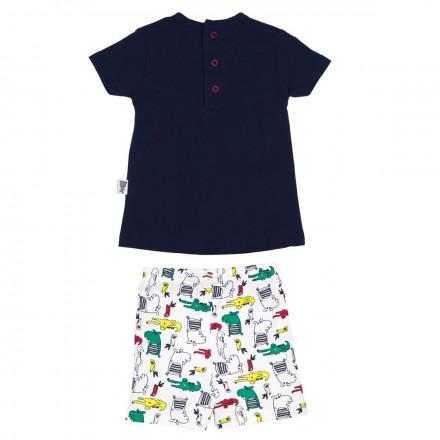Ensemble t-shirt + short bébé garçon Suntime