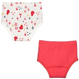 Lot de 2 culottes bébé fille Lovely Day