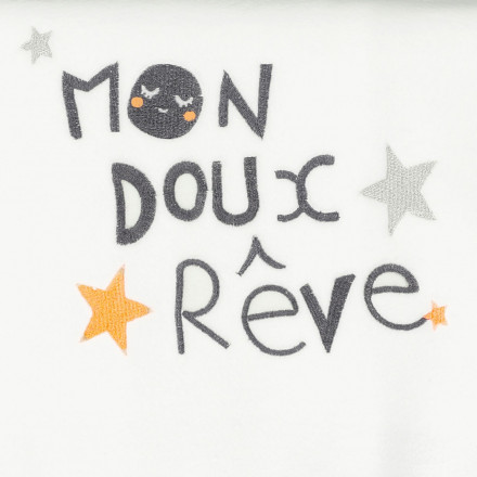 Couverture polaire bébé mixte Doux Rêves 75 x 100 cm