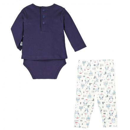 Ensemble body T-shirt + legging bébé garçon Petit Prince