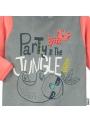Grenouillère velours bébé garçon Party Jungle