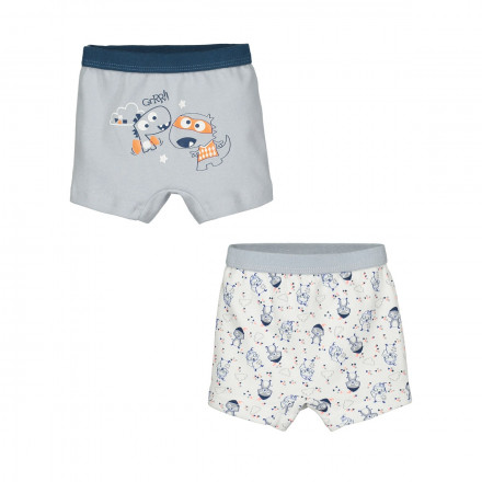 Lot de 2 boxers bébé garçon Magic Dragon