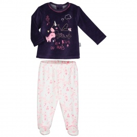 Ensemble bébé fille T-shirt + pantalon Lili