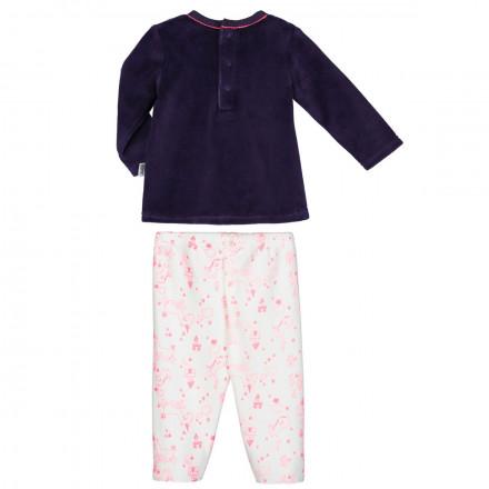 Ensemble bébé fille T-shirt + pantalon Lili