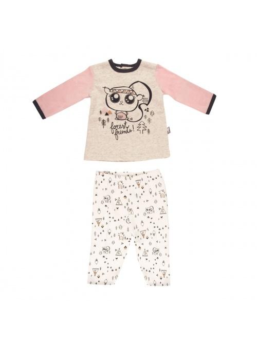Pyjama bébé fille Forest Friend