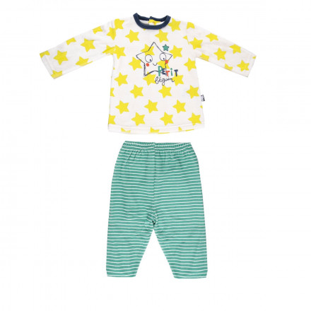 Pyjama velours bébé garçon Illico