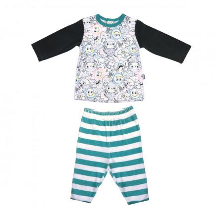 Pyjama velours bébé garçon Rêveur