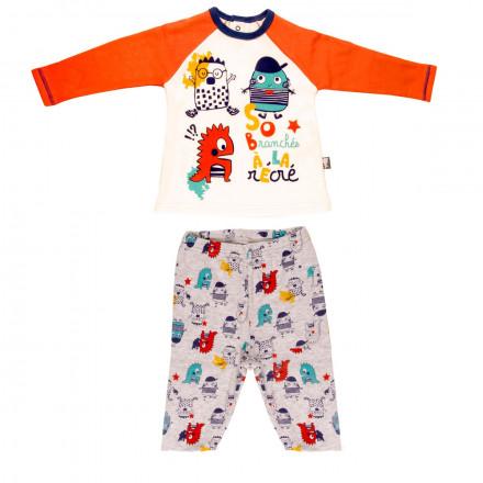 Pyjama double épaisseur bébé garçon Petit Branché