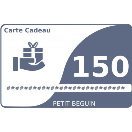 Carte cadeau 150