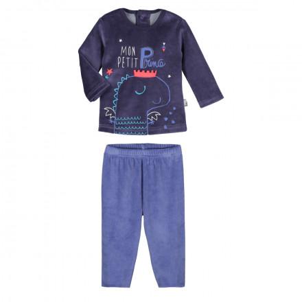 Pyjama velours bébé garçon Petit Prince