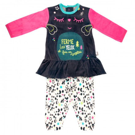 Pyjama bébé fille Wish