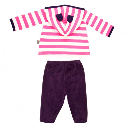 Ensemble bébé fille t-shirt + pantalon Youpi