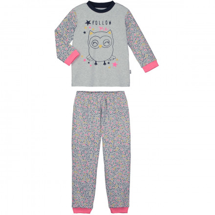 Pyjama fille manches longues Follow me