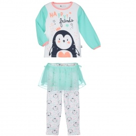Pyjama fille manches longues Little Pingou