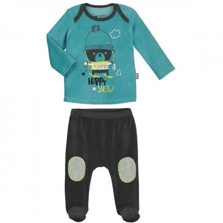 Pyjama bébé garçon Happysnow avec pieds
